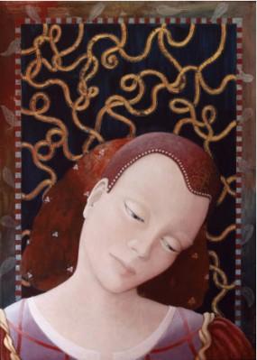 'Van Verre', eitempera op paneel, 70x50 cm