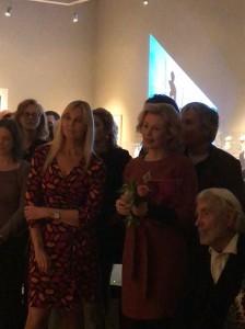 Met collega's Lia Harkes en Aat Verhoog (zittend)