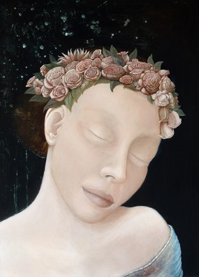 'Dulce', eitempera op paneel, 70x50 cm