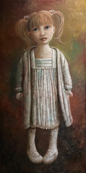 'Felicia III', oil on linen, 200 x 100 cm