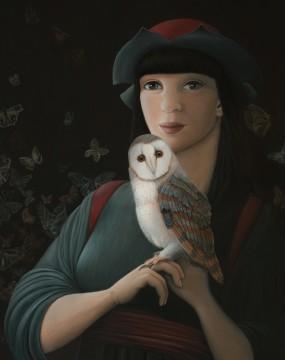 'Nachtwacht' detail 2, eitempera op paneel