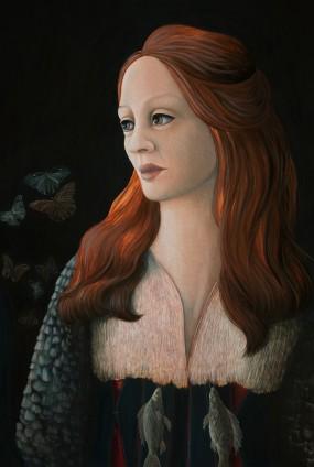 'Nachtwacht' detail 3, eitempera op paneel