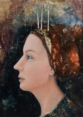 'Bir-Ghid', eitempera op paneel, 70x50 cm