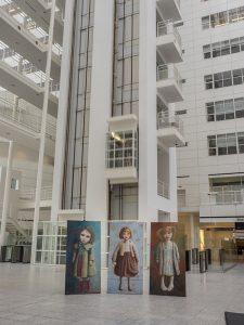 Atrium met lift
