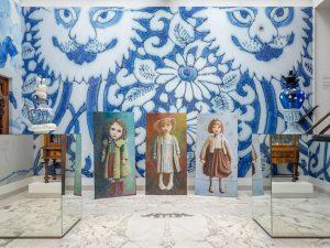 Gemeentemuseum, Delfts blauwe zaal
