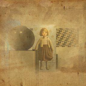 Felicia 1 in het Eschermuseum op de bovenverdieping