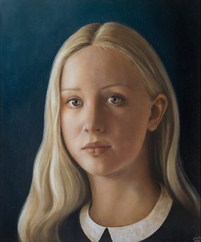 'Josephine', oil on panel, 35 x 25 cmJosephine, oil on panel, 35 x 25 cm